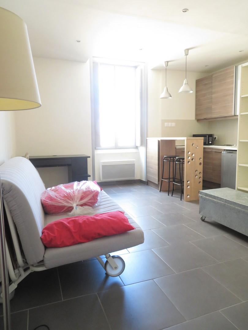 STUDIO Meublé, 23m², Rue des Marchands, 425€, Nîmes-centre